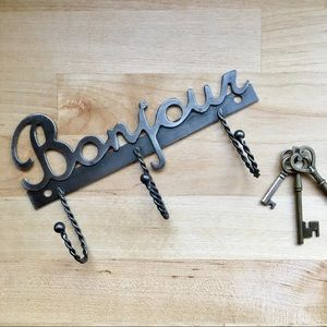 Other - Bonjour metal wall hook